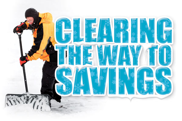 Clearing the way to savings.